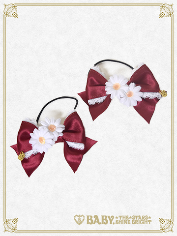 B42HA935 Cheerful Flower Ribbon Hair Band