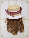 [RESERVATION] B42HA936 Best Wishes♡ Boater Hat