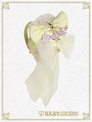 [RESERVATION] B42OH908 Le Ciel Étoilé ~Night Sky's Gift~ Slanted Ribbon Head Bow
