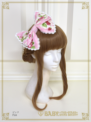 [RESERVATION] B42OH918 Sweetie Gingham Border Headbow
