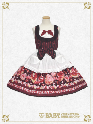 B42OJ213 DOKI DOKI♡STRAWBERRY MAGIC Jumperskirt II