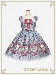 B42OJ222 Alice & Bambi ~with the Blue Bird of Happiness~ Jumper Skirt Ⅱ