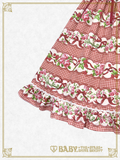 B42OJ230 Sweetie Gingham Border Jumper Skirt II
