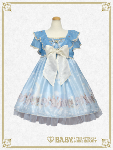 B42OP327 Le Ciel Étoilé ~Night Sky's Gift~ One-Piece Dress