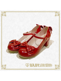 B42SH877 Antique Ribbon Shoes