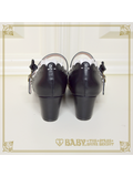 B43SH882 Marie One-Strap Shoes