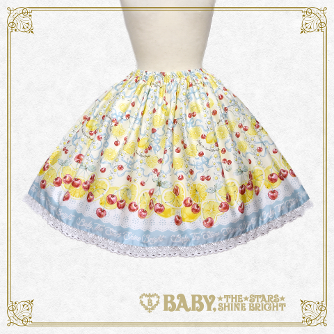 B42SK509 Cheerful Lemon Skirt