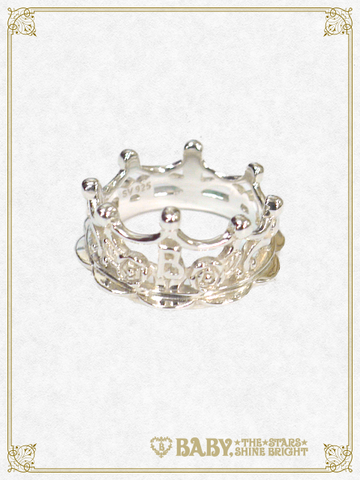 B43AC020 Milk Crown Ring