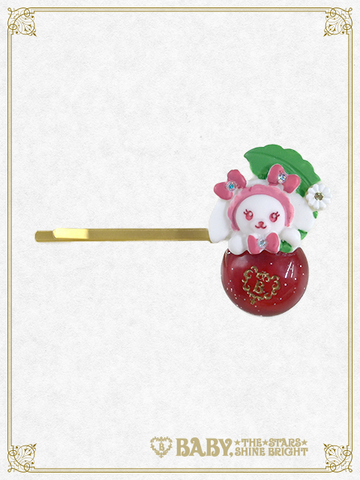 B43AC046 Kumya's Cherry Hairpin