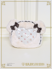 B43BG815-1 Kuma Kumya's Heart Window Rucksack