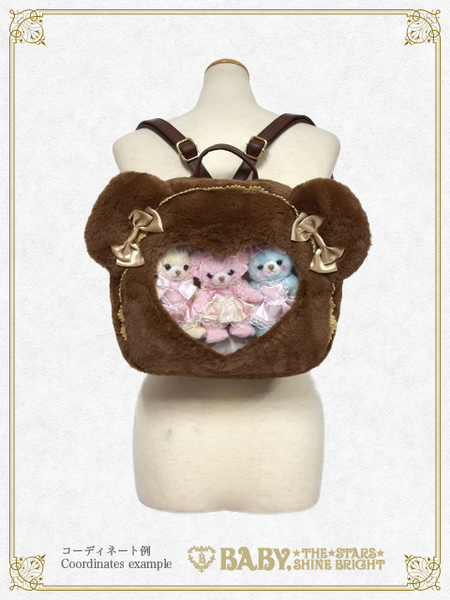 B43BG843 Kuma Kumya's Heart Window Rucksack (Limited)