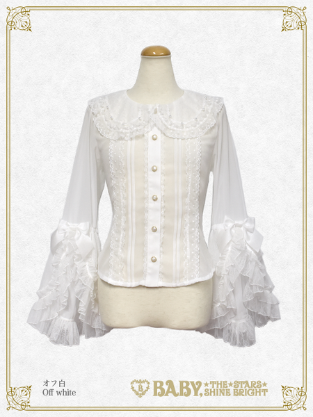 B43BL447 Fairy Crystal Snow Blouse