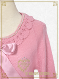 B43BO109 Pearl Diamonds Knitting Bolero