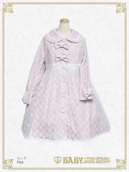 B43CO327 Flora Lace Coat