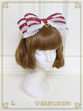 B43HA913 Organdy Headbow