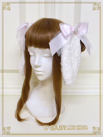 [RESERVATION] B43HA941 Kumya Princess Rabbit Ear Clip