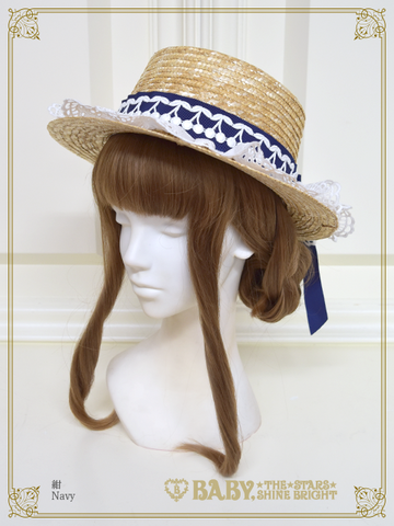 B43HA976 My Sweet Baby Straw Hat