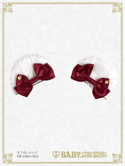 B43HA992 Kumakumya's Ear Fur Clip