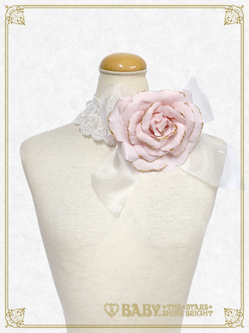 [RESERVATION] B43HC016 Kumya Princess corsage choker【MADE-TO-ORDER】