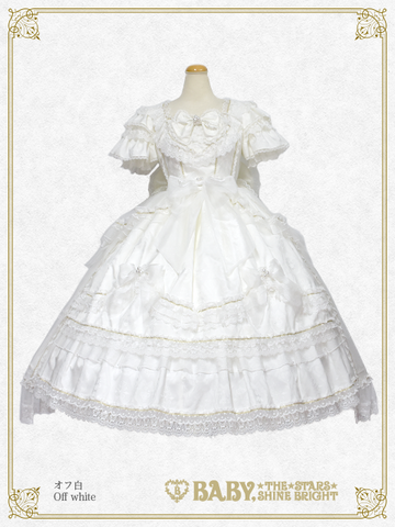 [RESERVATION] B43HC309 Kumya Princess Onepiece Dress with Over-skirt【MADE-TO-ORDER】