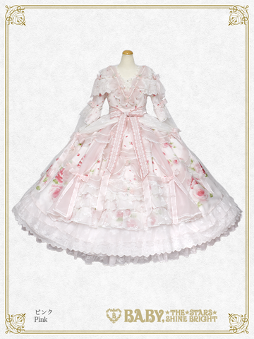 [RESERVATION] B43HC311 La Rose de la Rose Mademoiselles Princesse Dress【MADE-TO-ORDER】