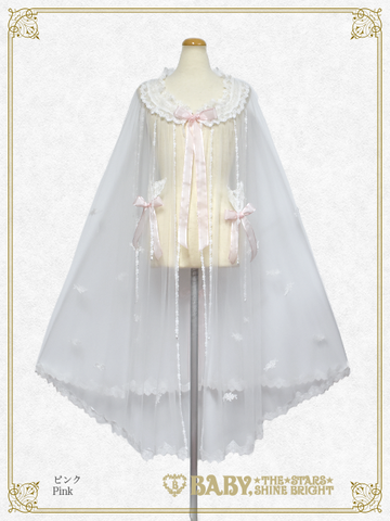 [RESERVATION] B43HC314 La Rose de la Rose Mademoiselles Princesse Lace Cape【MADE-TO-ORDER】