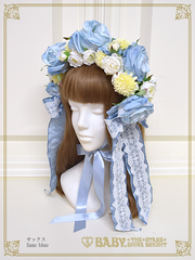 [RESERVATION] B43HC917 La Rose de la Rose Mademoiselles Princesse Headdress【MADE-TO-ORDER】