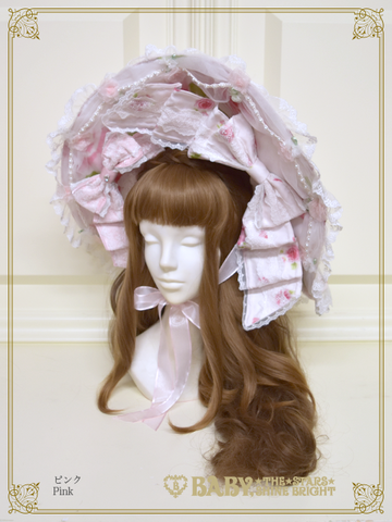 [RESERVATION] B43HC926 La Rose de la Rose Mademoiselles Princesse Dress Hat【MADE-TO-ORDER】