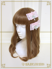 [RESERVATION] B43HC927 La Rose de la Rose Mademoiselles Princesse Ribbon Comb【MADE-TO-ORDER】