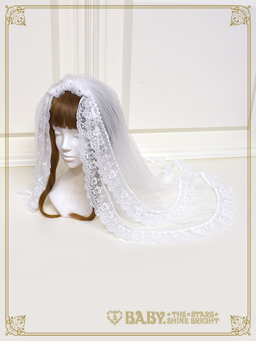 [RESERVATION] B43HC938 Kumya Princess Veil【MADE-TO-ORDER】