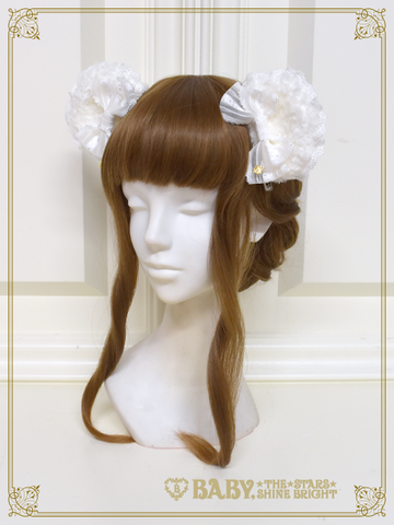 [RESERVATION] B43HC939 Kumya Princess Bear's Ear Clip【MADE-TO-ORDER】