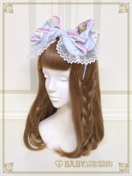 B43OH907 Effeuiller la Marguerite ~Whereabouts of Maiden's Love~ Headbow