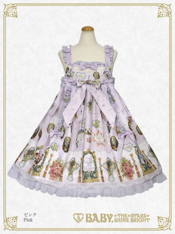 B43OJ214 Effeuiller la Marguerite ~Whereabouts of Maiden's Love~ Babydoll Jumperskirt