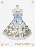 B43OJ215 Effeuiller la Marguerite ~Whereabouts of Maiden's Love~ Corset Jumperskirt
