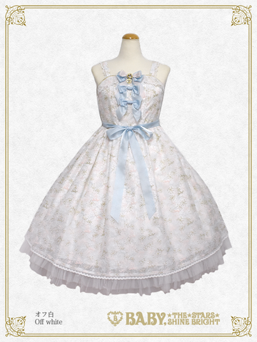 B43OJ226 Fairy Crystal Snow Jumperskirt Ⅰ