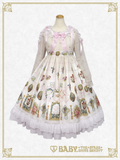 B43OP328 Effeuiller la Marguerite ~Whereabouts of Maiden's Love~ Onepiece Dress