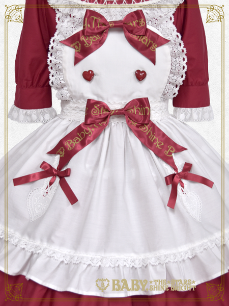 B43OP337 My Sweet Baby Apron Onepiece Dress