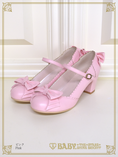 B43SH884 Antique Ribbon Shoes