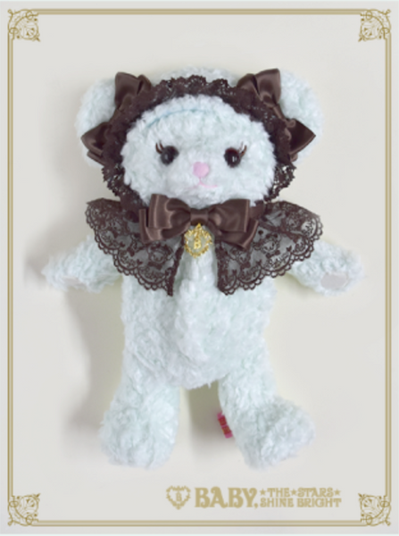 B43UK859 Happy ♡ Sweet 2020! Pale Mint Kuma Kumya Pochette