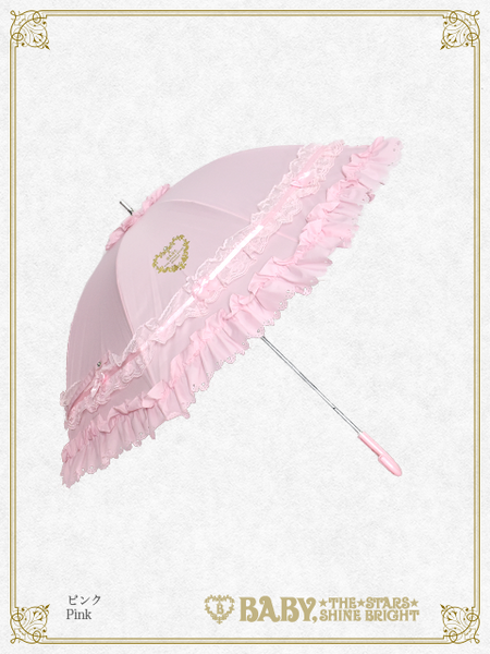 B43UM853 Petit Ribbon Short Umbrella