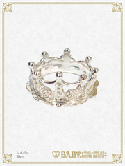 B44AC023 Milk Crown Ring