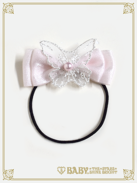 B44HA923 Belle Harmonie Papillon Opal Ribbon Hairbands
