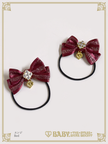 B44HA945 Mini Stripe Ribbon Hairbands