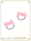B44HA965 Petits Pois Mini Ribbon Hairbands