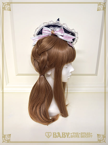 B44HA984 Étoile Sonata~Eternal Shine Bright in Moonlit night~Mini Hat
