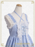 B44JS216 Babydoll Jumperskirt & Princess Drop Headdress Set