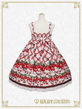 B44OJ204 Strawberry Garden Jumperskirt Ⅱ