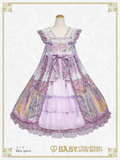 B44OJ205 Belle Harmonie~Melody of Resonating Wishes and Reunited Maidens~Babydoll Jumperskirt