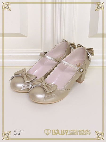 B44SH818 Antique Ribbon Shoes