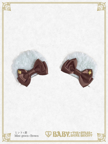 B44UK857 Kumakumya's Ear Fur Clip (Limited)